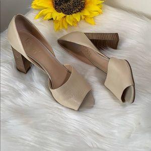 Franco Sarto Chunky Heels